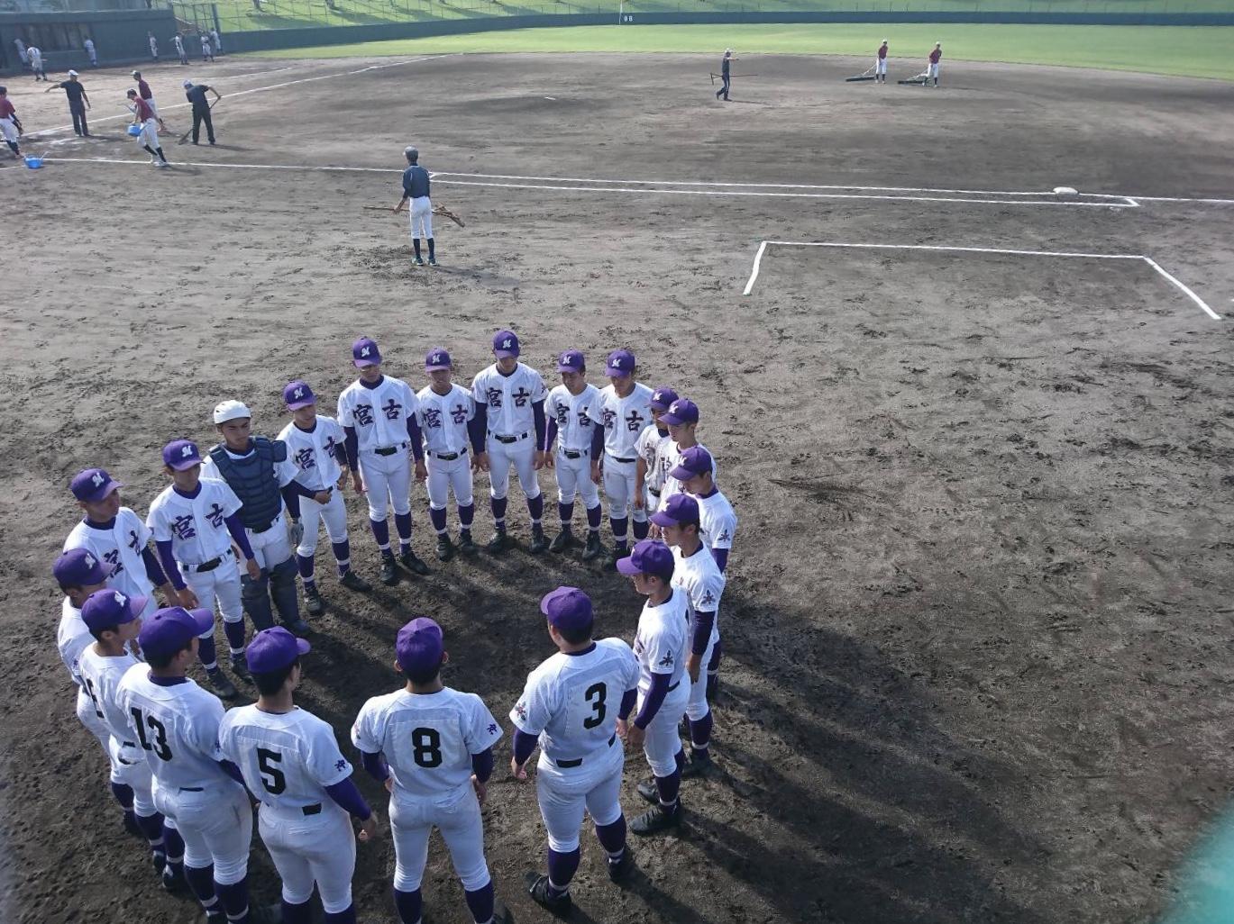 宮古高校と宮古総実の野球応援にいってきました!